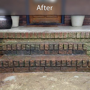 Sinking stairs repaired with PolyLevel® Oklahoma City