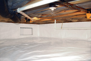 Crawl Space Repair After in Tulsa
