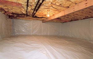 CleanSpace® vapor barrier after in Tulsa