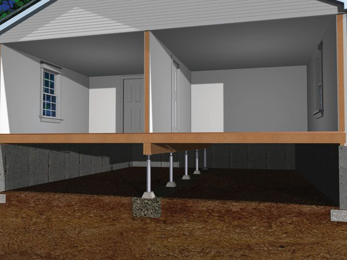 Crawl Space Joist Repair By Greater Oklahoma City Foundation - Flooring contractors okc