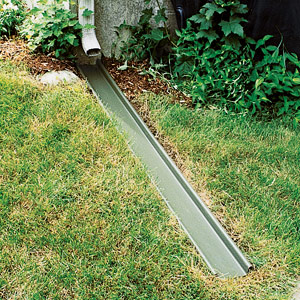 Gutter downspout extension
